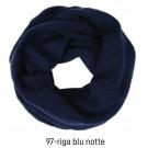COLLARE A TUBO MULTIUSO SHARPEI - Blu Notte